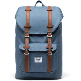 Herschel Little America Mid-Volume Zaino 17L, blue mirage crosshatch